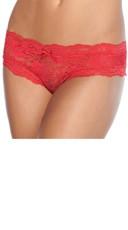 Cheeky Lace Crotchless Panty