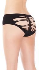 Seamless Slash Back Bikini Panty