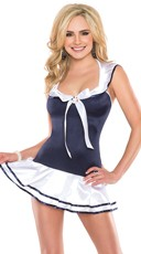 Sailor Lingerie Dress