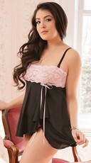 Plus Size Lovely In lace Babydoll