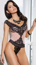 Blush and Lace Teddy