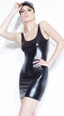 Wet Look Tank Dress