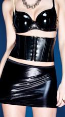Wet Look Corset Belt