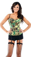 Army Costume Bustier