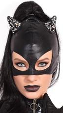 Cat Mask with Rhinestones