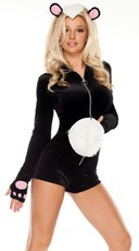 La Belle Skunk Costume