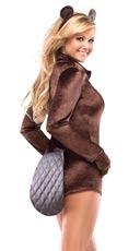 Big Brown Beaver Costume