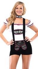 Busty Beer Girl Costume