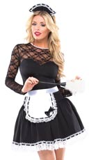 Exotic French Maid Costume
