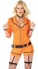Bad Girl Inmate Costume