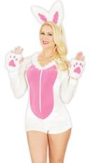 Fuzzy Bunny Love Costume