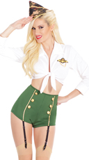 Pin Up Military Costume