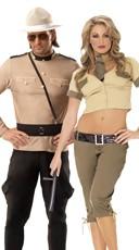 Highway Patrol Hotties Couples Costume
