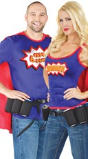 Beer-ly Heros Couples Costume