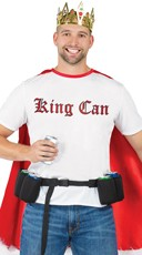 Men's King of Beers Costume