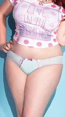 Plus Size Pretty in Pastels Panty
