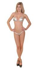 Silver Micro Bikini Set