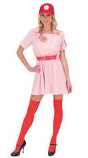 Deluxe City of Rockford Peaches Costume