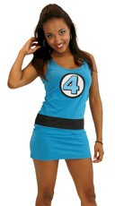 Fantastic Four Sue Storm Tank Dress