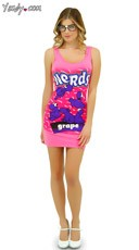 Grape Nerds Tank Dress