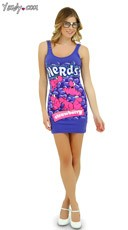 Strawberry Nerds Tank Dress