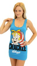Crackle Kelloggs Rice Krispies Tank Dress