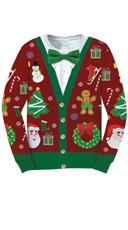 Ugly Christmas Cardigan Sweater Shirt
