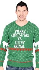 Plus Size Ya Filthy Animal Ugly Christmas Sweater