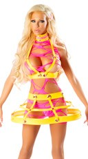 Josie Loves J. Valentine Shredded Cage Set
