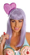 Purple California Girl Wig