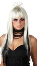 Chopstix Wig White and Black