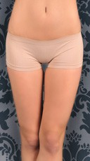 Classic Seamless Nylon Boy Short Panty