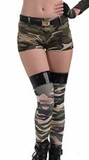 Combat Cutie Camo Shorts