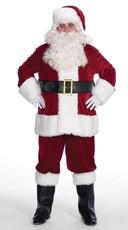 Complete Velvet Santa Suit
