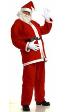 Plus Size Simply Santa Costume
