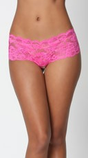 Crotchless Lace Boyshort