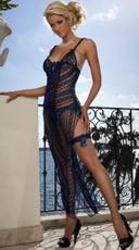 Sheer Laced Long Dress