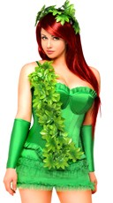 Plus Size Ivy Vixen Costume