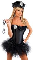 Plus Size Flirt Patrol Corset Costume