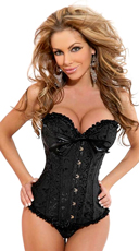 Plus Size Elegant Seductress Corset