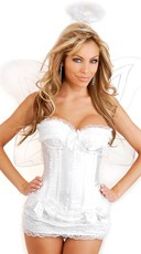Plus Size Deluxe Heaven Sent Sexy Angel Costume