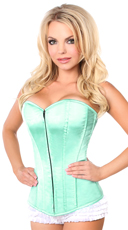 Mint Green Sweetheart Corset