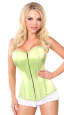 Lime Sweetheart Corset