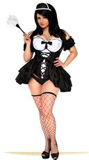 Keep It Dirty French Maid Bedroom Costume