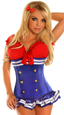 Pin-Up Sailor Girl Costume