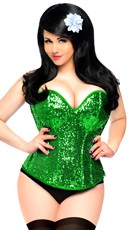 Sequin Lucky Charm Corset