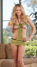 Sweet As Honey Bee Lingerie Costume