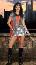 Shimmering Knight Costume