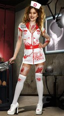 Nurse Norma Lee Crazy Costume