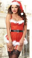 Sexy Santa Apron Lingerie